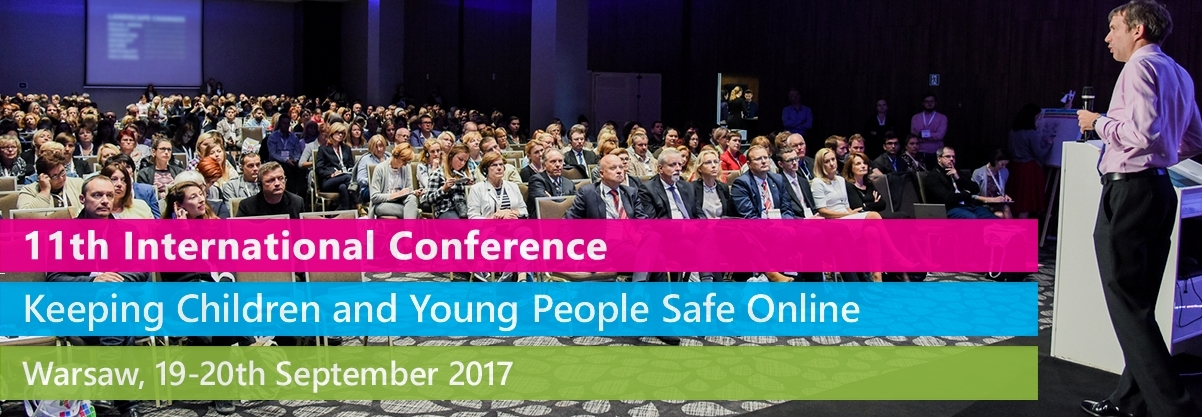 "Speaking at 11th International Conference ""Keeping Children and Young People Safe Online"", Warsaw"