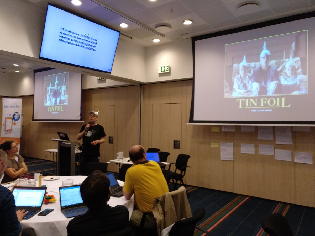Speaking at Insafe creative learning and cybersecurity conference, Copenhagen