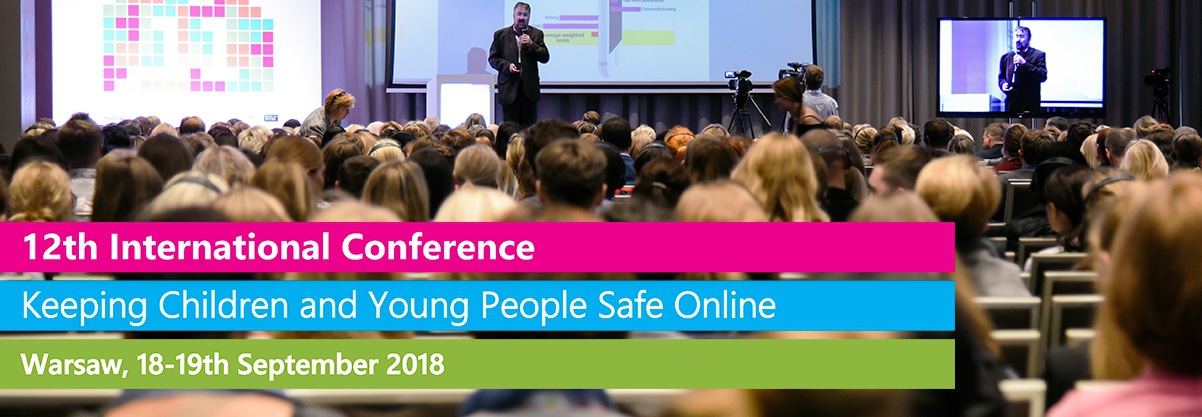 """Speaking at 12th International Conference """"Keeping Children and Young People Safe Online"""", Warsaw"""