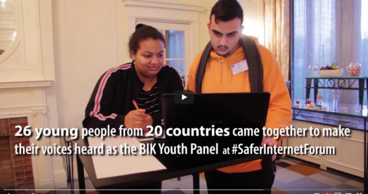 BIK Youth Panel 2019 YouthForYouth campaign