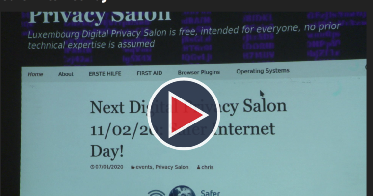 Privacy Salon report on RTL