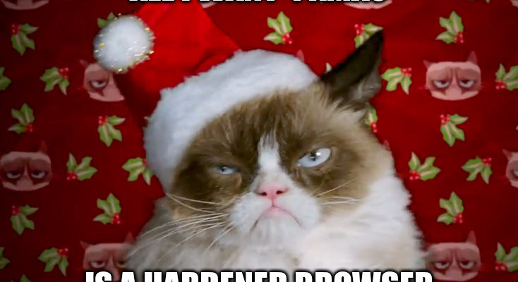 Next Digital Privacy Salon 10/12/19: All I Want 4 Xmas…Is A Hardened Browser