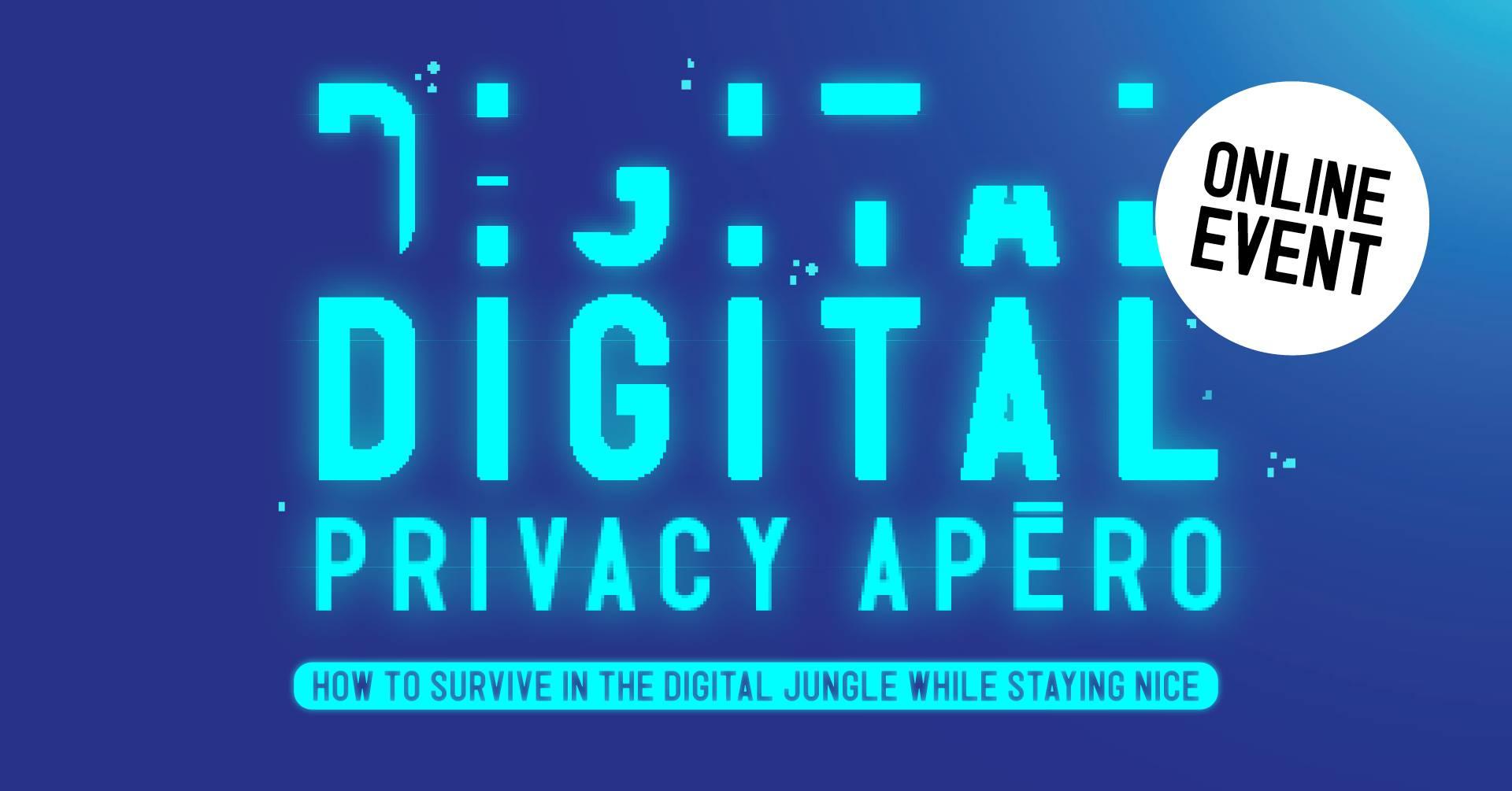 Digital privacy apéro: Privacy & the pandemic – Wednesday, September 30, 2020